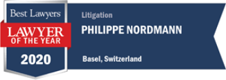 Best Lawyers Lawyer of the Year_Nordmann