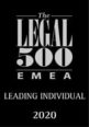 Legal 500 Leading Lawyer 2020